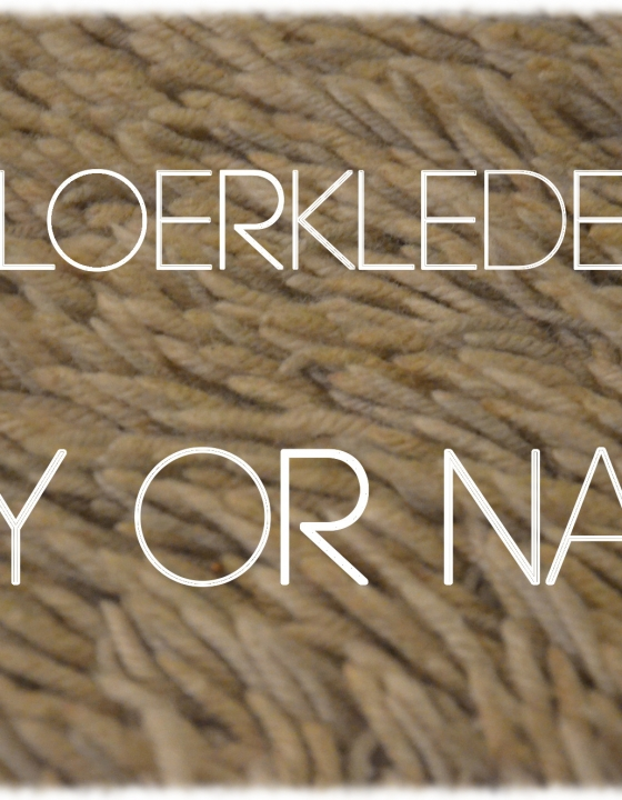 Vloerkleden… Yay or Nay?