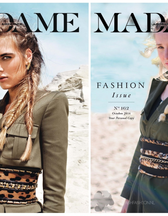 The Look For Less: Desert Cool in Madame Air France (met Balmain, Louis Vuitton en Dior)