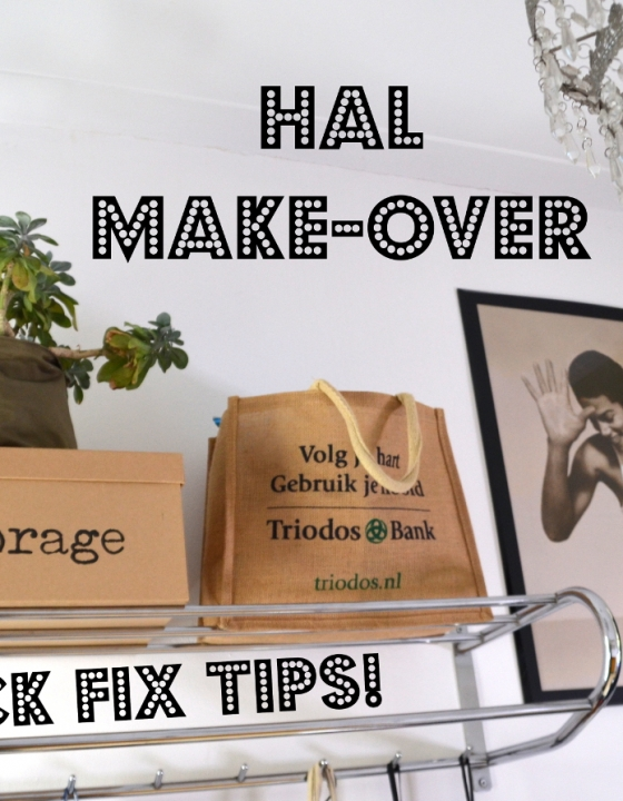 Mini make-over van onze hal met quick fixes en BinBangs! (+ BinBang kortingscode)