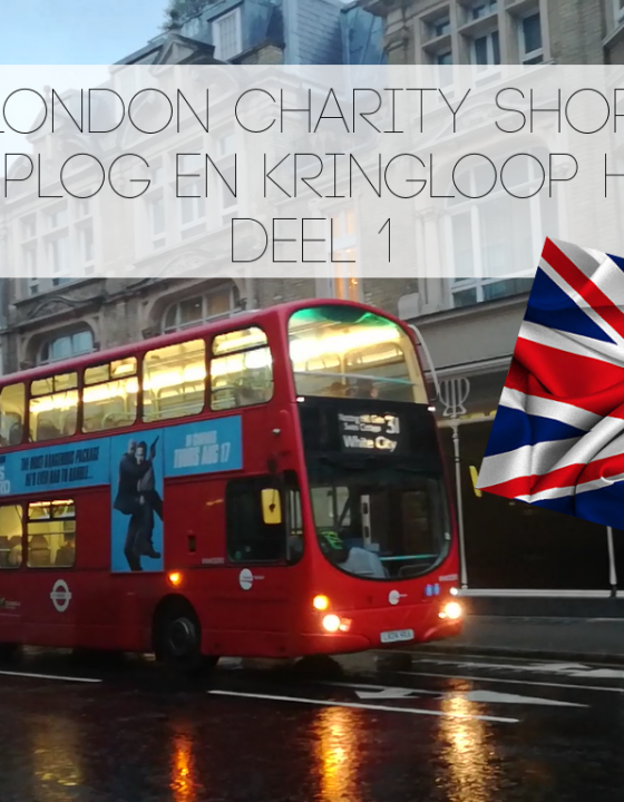 London Charity Shop shoplog en kringloop haul – deel 1